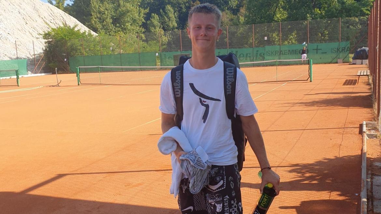 Grega izvrstno na ITF 4 v Kranju, Tom polfinalist dvojic na TE v Kopru