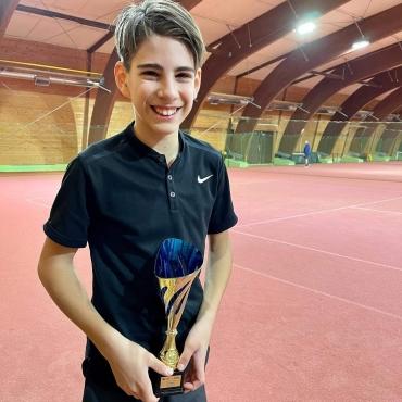 Dobri nastopi naših igralcev in igralk tudi pretekla vikenda, Marko Kovačević finalist U16 B