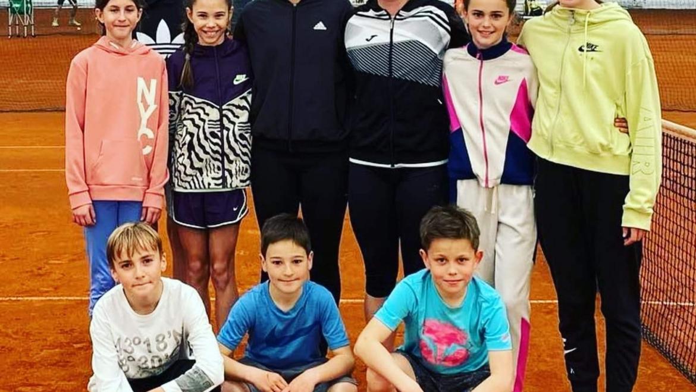 V teniškem centru Maje Matevžič trenirajo tudi naši najboljši igralci in igralke