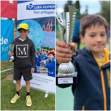 Nik četrtfinalist U18, Val osvojil turnir U10, Aleksej najboljši na turnirju U11