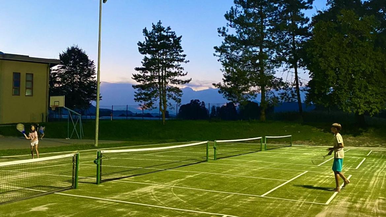 Nova pridobitev – igrišča za mini tenis