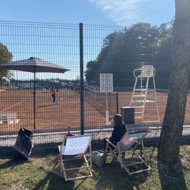 Konec tedna teniški center gosti turnir U12 za deklice